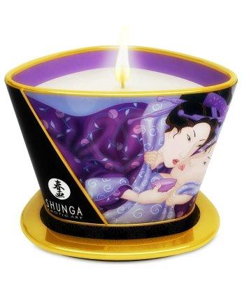 Массажное аромамасло в виде свечи Shunga Exotic Fruits Экзотические фрукты 170мл
