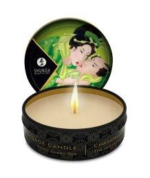 Массажное аромамасло в виде свечи Shunga Exotic Green Tea Зеленый чай 30мл