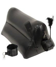 БДСМ набор с надувной подушкой и наручниками Portable Triangle Cushion