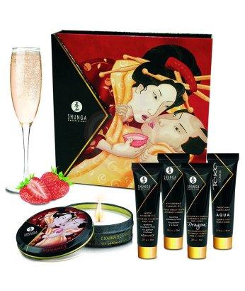 Подарочный набор косметики Shunga Geisha's Secret Клубника и шампанское
