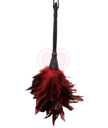 Пушистая щекоталка с перьями Frisky Feather Duster