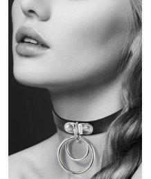 Чокер с кольцами Bijoux Pour Toi Collier чёрный