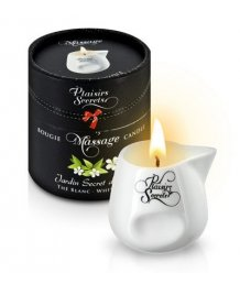Свеча с массажным маслом Concorde Massage Candle Белый чай 80 мл