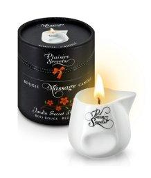 Свеча с массажным маслом Concorde Massage Candle Красное дерево 80 мл