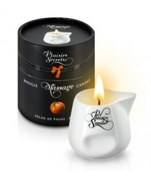 Свеча с массажным маслом Concorde Massage Candle Персик 80 мл