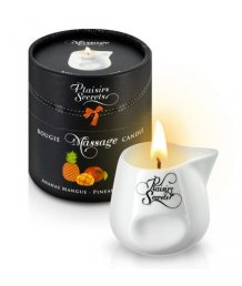 Свеча с массажным маслом Concorde Massage Candle Ананас и манго 80 мл
