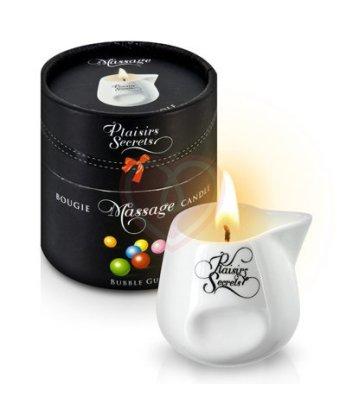 Свеча с массажным маслом Concorde Massage Candle Сладкая жевательная резинка 80 мл