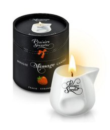 Свеча с массажным маслом Concorde Massage Candle Клубника 80 мл