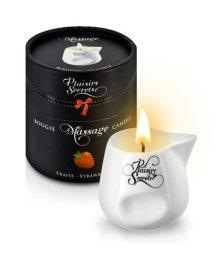 Свеча с массажным маслом Concorde Massage Candle Клубника 80 мл