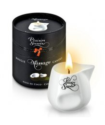Свеча с массажным маслом Concorde Massage Candle Кокос 80 мл