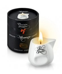 Свеча с массажным маслом Concorde Massage Candle Шоколад 80 мл