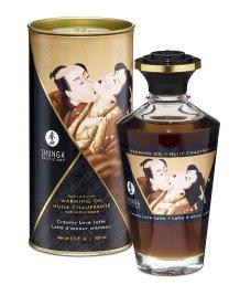 Съедобное согревающее масло Shunga Любовный латте 100мл