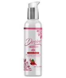 Вкусовой лубрикант на водной основе Desire Flavored Lubricant Cherry Blast Вишня 59 мл