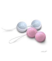 Вагинальные шарики LELO Luna Beads Mini розовые и голубые