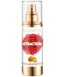 Разогревающее массажное масло с феромонами и ароматом манго 30 мл