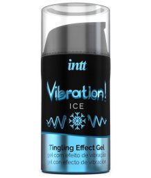 Стимулирующий охлаждающий гель Intt Vibration! Ice 15 мл