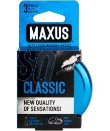 Презервативы классические Maxus Classic 3 штуки