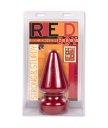 Огромная анальная пробка Red Boy красная