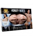 Мастурбатор вагина и анус Ashley Blue's CyberSkin Spread Wide