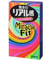 Анатомические презервативы Sagami Miracle Fit 10 шт