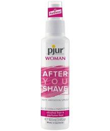 Ухаживающий спрей после бритья Pjur Woman After You Shave 100 мл