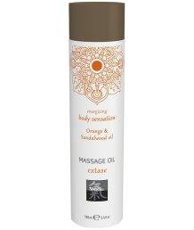 Массажное масло Shiatsu Massage Oil Extase Апельсин и сандал 100 мл