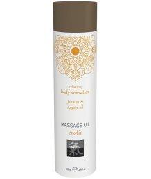 Массажное масло Shiatsu Massage Oil Erotic Жасмин и аргана 100 мл