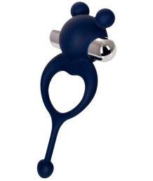 Виброкольцо с хвостиком JOS Mickey синее