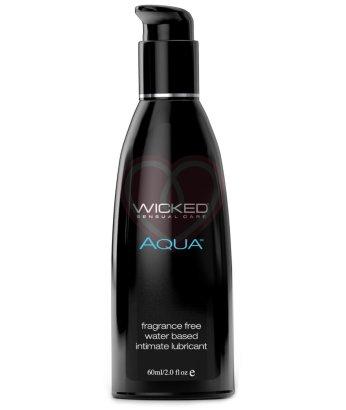 Легкий лубрикант на водной основе Wicked Aqua 60 мл