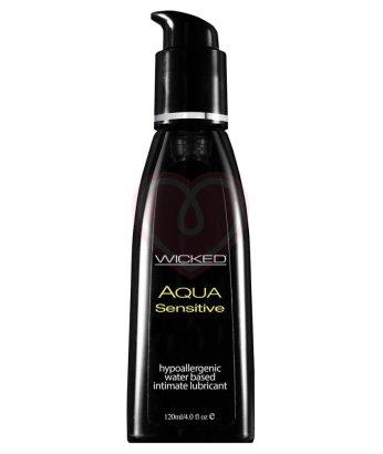 Лубрикант для чувствительной кожи Wicked Aqua Sensitive 120 мл