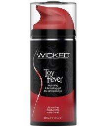 Разогревающий лубрикант на водной основе Wicked Toy Fever 100 мл
