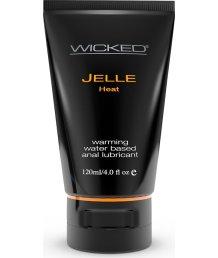 Анальная разогревающая смазка на водной основе Wicked Jelle Heat 120 мл