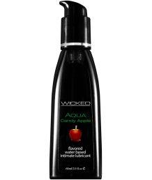 Оральный лубрикант Wicked Aqua Candy Apple со вкусом сахарного яблока 60 мл