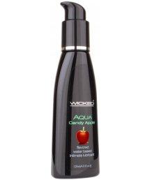 Оральный лубрикант Wicked Aqua Candy Apple со вкусом сахарного яблока 120мл