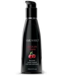 Оральный лубрикант Wicked Aqua Cherry со вкусом сладкой вишни 120 мл