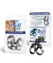 Кожаный разделитель мошонки 8 Style Ball Divider
