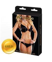 Ожерелье и браслеты Love Slave золотой