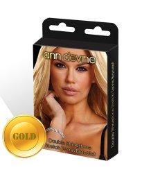Браслет из кристаллов Stretch Tennis Bracelet золотой