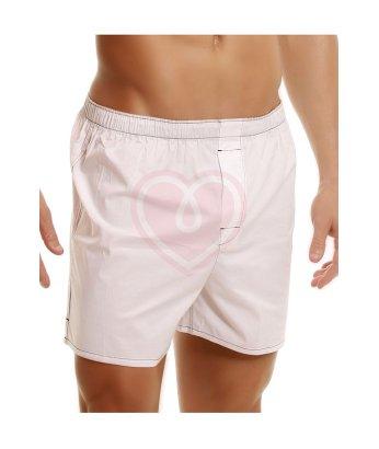 Мужские трусы-шорты Hustler белые 2 шт