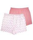 Мужские трусы-шорты Hustler розовые и белые 2 шт