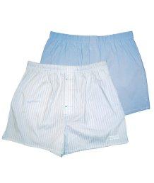 Мужские трусы-шорты Hustler голубые 2 шт