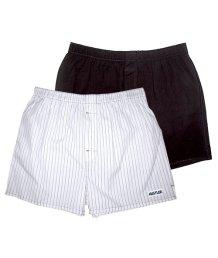 Мужские трусы-шорты Hustler черные и белые 2 шт