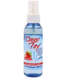 Очищающий спрей Clear Toy Strawberry клубничный 100 мл