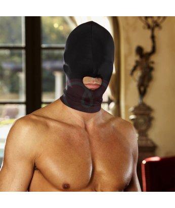 Эластичная маска на голову с прорезью для рта Open Mouth Stretch Hood