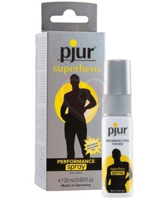 Пролонгирующий мужской спрей Pjur Superhero Spray 20мл
