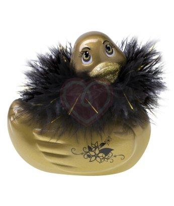 Вибромассажер уточка I Rub My Duckie Gold Travel Size золотая