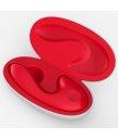 Греющийся вибратор для клитора и точки G Sensevibe красный