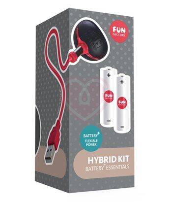 Набор Fun Factory HYBRID KIT BATTERY+ (аккумуляторы и зарядка)