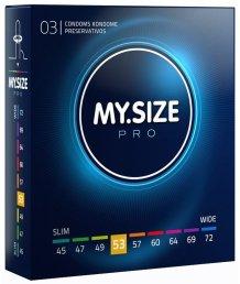 Презервативы MY.SIZE №53 3шт