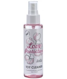 Очищающий антибактериальный спрей Toy Cleaner Love Protection 110 мл